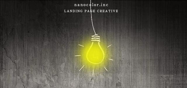 nanocolor.inc LANDING PAGE CREATIVE