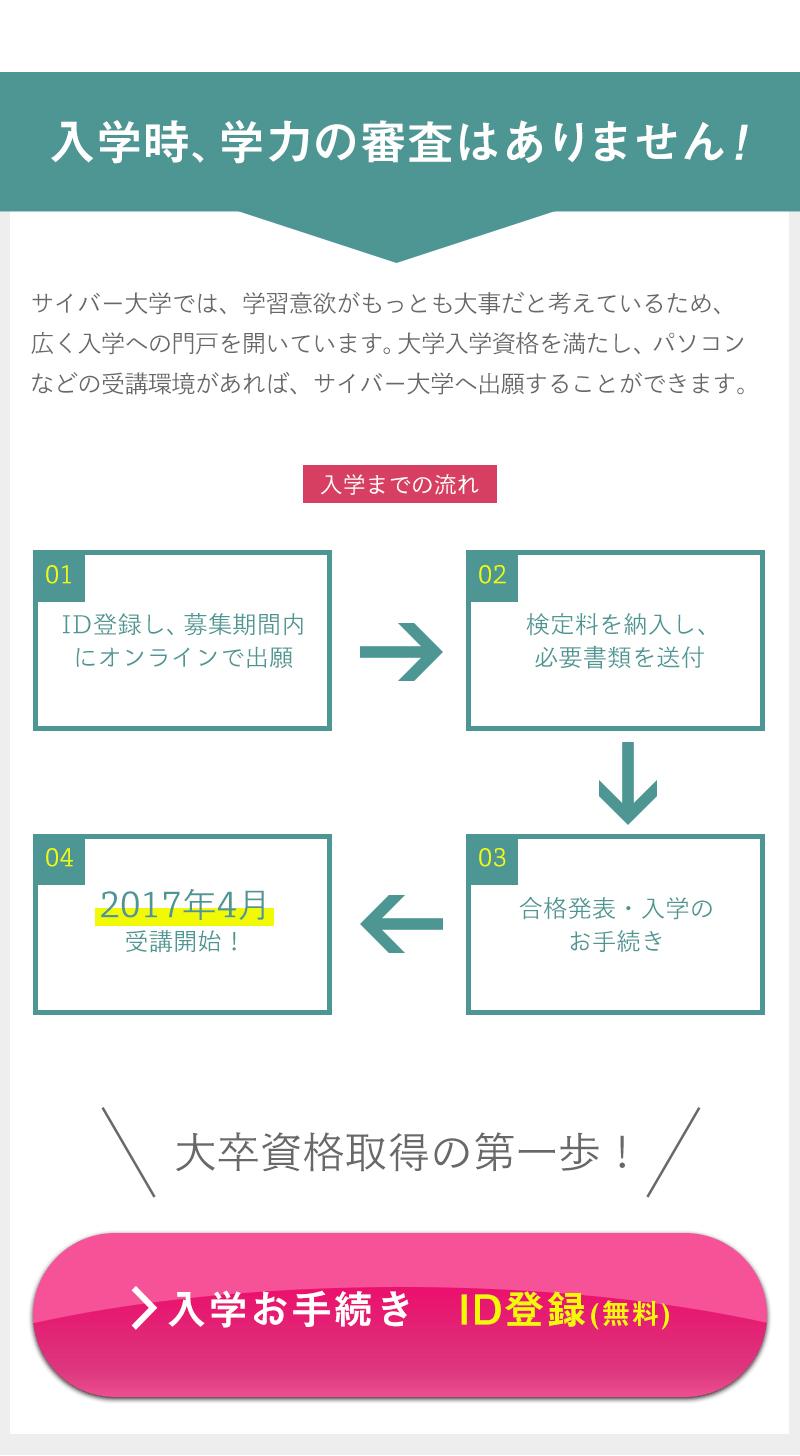 インターネット通信制大学の資料請求用ランディングページ(LP)デザイン・制作事例26