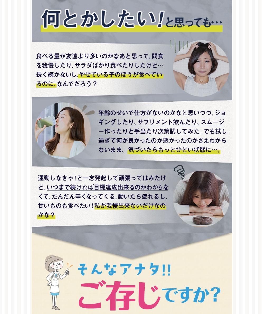腸内サポートサプリ販売用ランディングページ(LP)デザイン・制作事例03